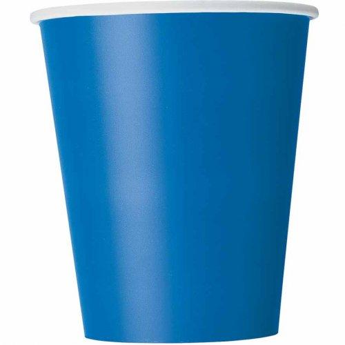 8 Bicchieri Blu Oceano