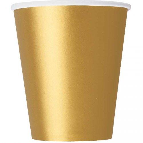 8 Bicchieri Oro