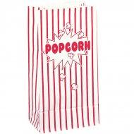 10 sacchetti di carta per popcorn