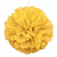 Sfera di carta froufrou gialla