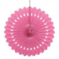 1 ventaglio deco rosa (40 cm)