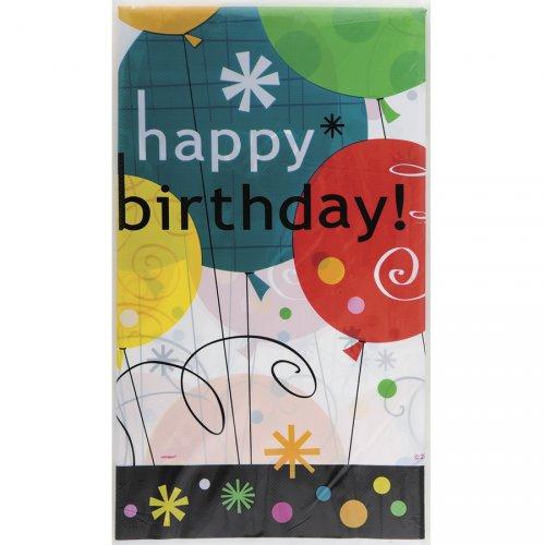 Tovaglia Palloncini Happy Birthday