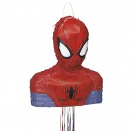 Pull Pinata Busto di Spiderman