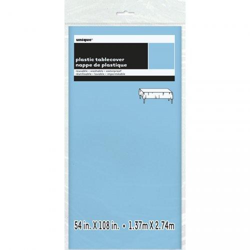 Tovaglia blu chiaro  tinta unita - Plastica