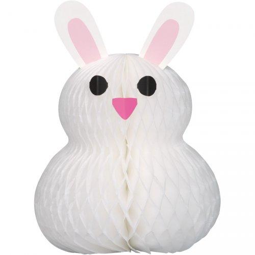 Centrotavola coniglio di carta 3D