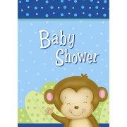 8 Inviti Baby Shower Uistitì Baby Boy