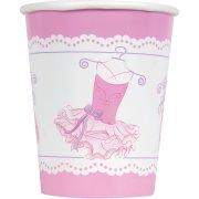 8 Bicchieri Pink Ballerina