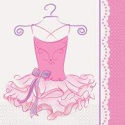 16 Tovaglioli Pink Ballerina
