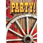 8 Inviti Western Rodeo