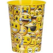 Bicchiere formato grande Emoji Fun (47 cl) - Plastica