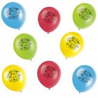 Contiene : 1 x 8 Palloncini Emoticon Smile multicolori