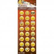 24 Emoji Smiley Smiley Adesivi in vinile
