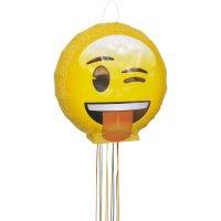 Contiene : 1 x Pull Pinata Emoji Smiley