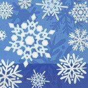 16 Tovaglioli Fiocchi d'inverno