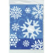 50 Sacchetti Cellophane per Alimenti Fiocchi di Neve Small