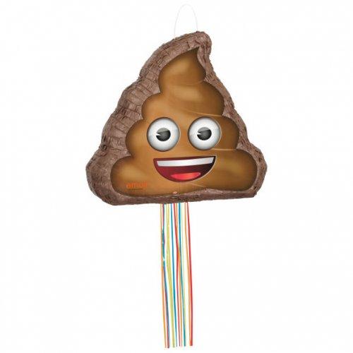 Pull Pinata Emoji Poop