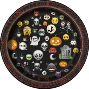 8 Piattini Emoji Halloween