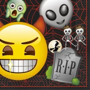 16 Tovaglioli Emoji Halloween