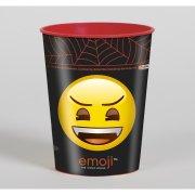 1 Bicchiere Emoji Halloween (30 cl) - Plastica