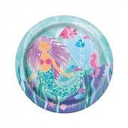 8 Piatti Principessa Sirena