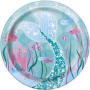 8 Piattini Principessa Sirena
