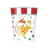 8 Bicchieri Happy Circus