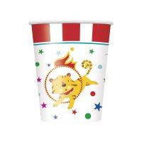 Contiene : 1 x 8 Bicchieri Happy Circus