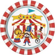8 Piattini Happy Circus