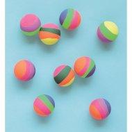 8 palle di rimbalzo di divertimento dell'arcobaleno