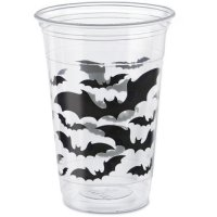 Contiene : 1 x 8 Bicchieri formato Maxi Strega e Pipistrello (47 cl)