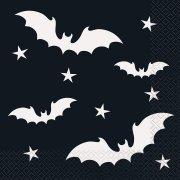 20 Tovaglioli Strega e Pipistrello