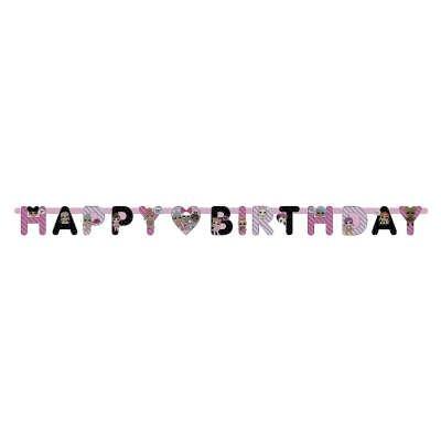 Ghirlanda Happy Birthday LOL Surprise