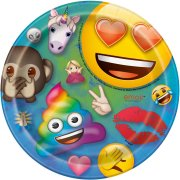 8 Piattini Emoji Rainbow