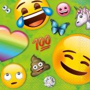 16 Tovagliolini Emoji Rainbow