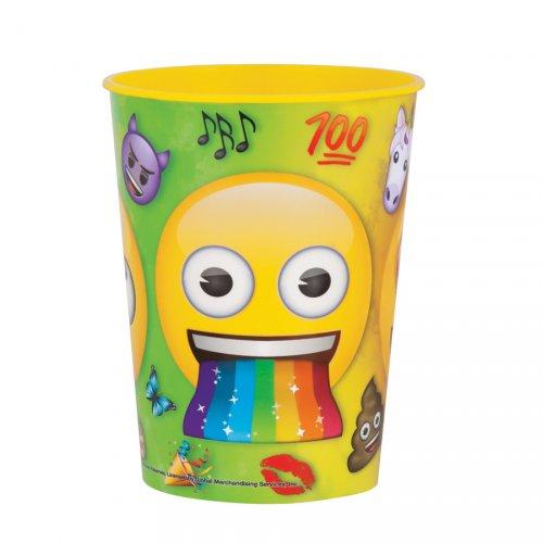 Bicchiere formato grande Emoji Rainbow (35 cl) - Polipropilene