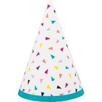Contiene : 1 x 8 Mini cappelli Fantasia Pop
