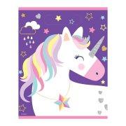 8 Sacchetti regalo Unicorno