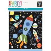 Contiene : 1 x 8 Sacchetti regalo Cosmos Party