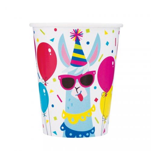 8 Bicchieri Lama Fun
