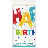 Contiene : 1 x Tovaglia fantasia Happy Birthday