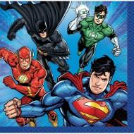 16 Tovagliolini Justice League