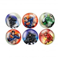 6 Palle Pazze Justice League (3 cm)