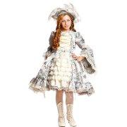 Travestimento Maria Antonietta Lusso 5-6 anni