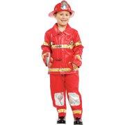 Travestimento Pompiere Lusso taglia 5-6 anni