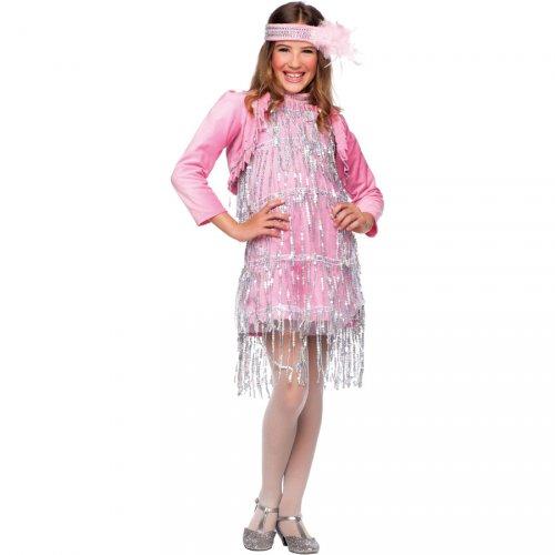 Costume Miss Charleston Rosa Luxury