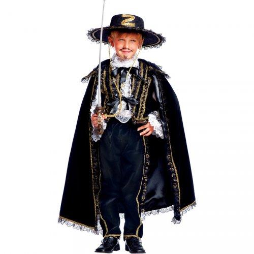Costume Zorro Luxury - 11-12 anni