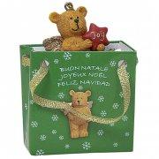 Mini Gift Bag Renna /Orsacchiotto /Cerbiatto (5 cm) - Resina