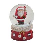 Palla di Neve Babbo Natale (6 x 4,5 cm)