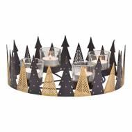 Corona dell'Avvento - Metallo (26 cm)
