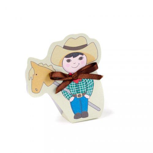 10 sacchettini Cowboy